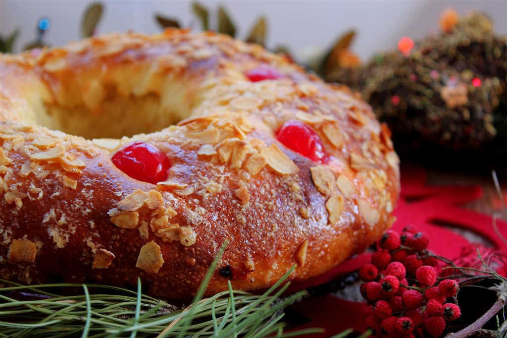 Королевский пирог (Roscón de Reyes)